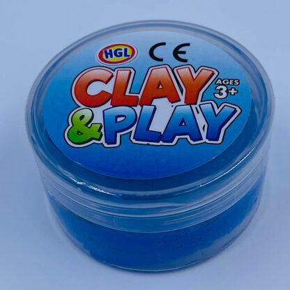 Clay and Play blå slim små gaver