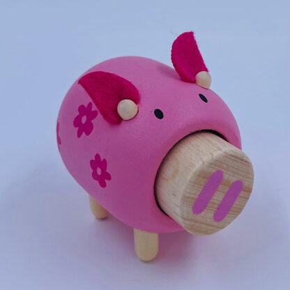 Dyr med gris lyd fra gården