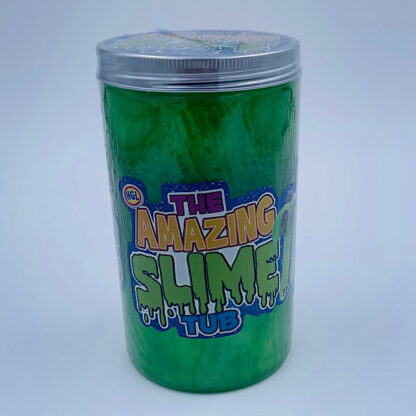 Amazing grøn slime tub