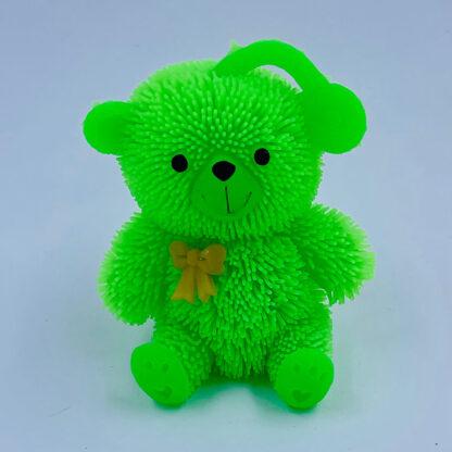 grøn klemmebamse