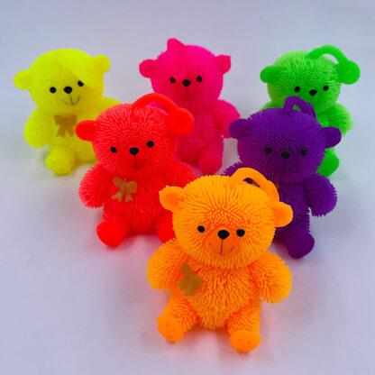 klemmebamse i neonfarver smaa gaver
