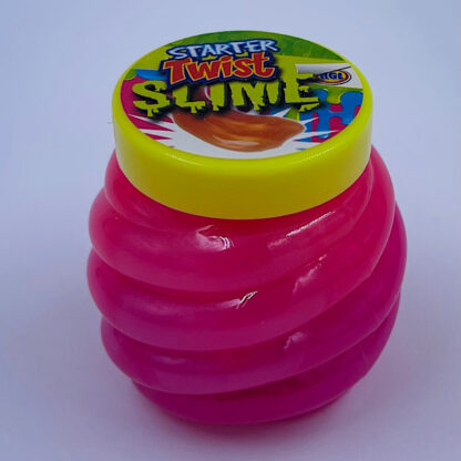twisted dobbelt farvet slim granat pink
