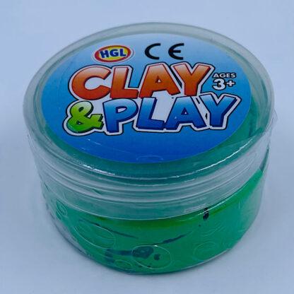 Clay and Play grøn slim små gaver