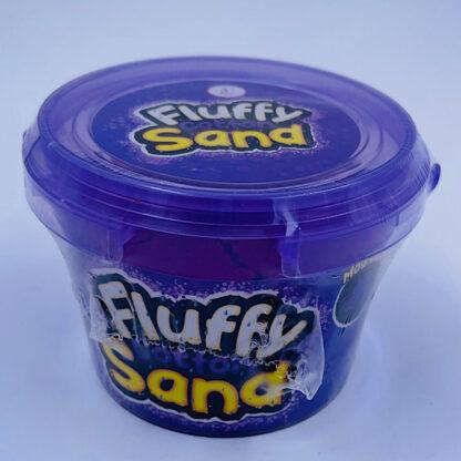 fluffy cotton sand som er let at forme samt mega stretchy og blødt i lilla