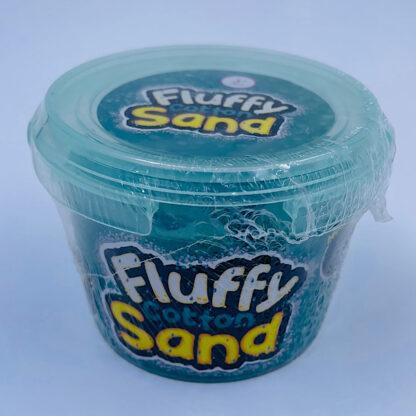 fluffy cotton sand som er let at forme samt mega stretchy og blødt i turkis