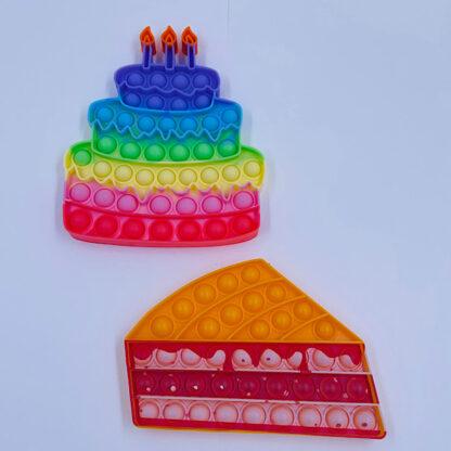 Lagkage kagestykke fødselsdag fest