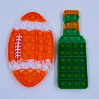 Pop it øl og amerikansk fodbold fidget