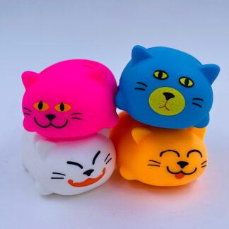 Stress Kat Cute Squeesy Cat Klemme kat Små gaver