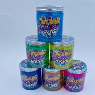 The amazing glitter putty tub Stor glimmer slim 425 gram Pytty Små gaver